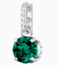 Swarovski Crystal Remix Collection Charm, May, Green, Rhodium Plating 5433321 - $35.52