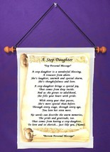 A Step Daughter - Personalized Wall Hanging (237-2) - $18.99