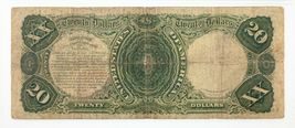 1880 $20 United States Note Fr #147 Graded by PMG as Fine 12 image 4