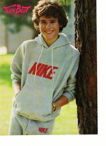 Rad Daly teen magazine pinup clipping Nike sweats by a tree Teen Beat 1980's