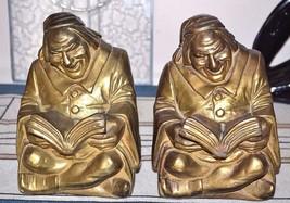 "Antique USA Armor ""Good Book"" Ruhl Signed Stamped Deco Era Bronze Clad B... - $249.99"