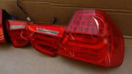 09-11 BMW E90 4dr Sedan Taillight lamps Set LED 328i 335i 335d 328 335 320i image 6