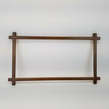 Cross Corner Wood Frame for Needlework Stitchery Vintage 1987 Creative C... - $29.99
