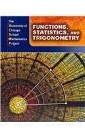 Primary image for Functions, Statistics, and Trigonometry (The University of Chicago School Mathem