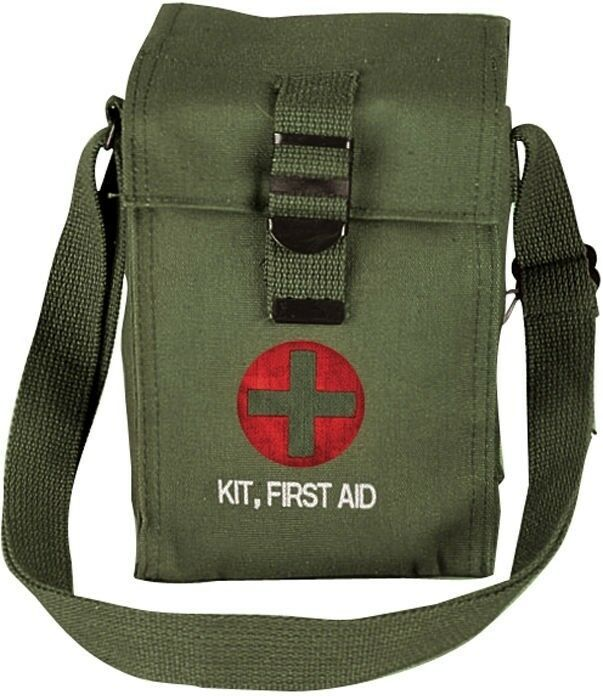 Primary image for Olive Drab Platoon Leaders Military Emergency First Aid Kit