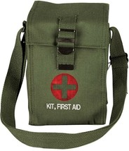 Olive Drab Platoon Leaders Military Emergency First Aid Kit - $26.99