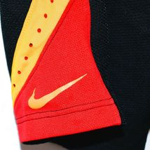 Nike Dri-Fit Elite Black Red Yellow Men's Athletic Basketball Shorts Size S image 4