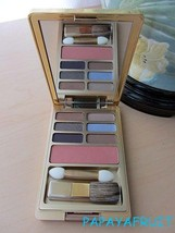 Estee Lauder 6 EyeShadow & Blush Palette NUDE ROSE SEPIA SAND WINKING PE... - $25.73