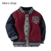 66-80cm height Boys and girls varsity letterman jacket coat Baby clothing - $22.81 CAD+