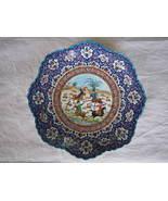 PERSIAN HANDMADE Mina Kari plate Enameled (20 cm) - $99.00