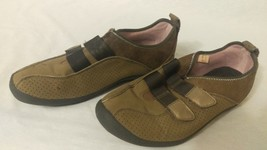 Dexter Shoes Women's Size 9 light Brown velcro - $17.82