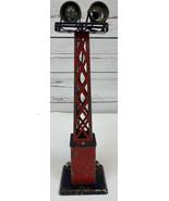 Marx 416 O/O27 Scale/Gauge Dual Floodlight Yard Tower Rotatable Vintage ... - $28.88