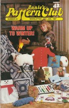 Annie's Pattern Club No 42 Dec-Jan 1987 with pullout patterns - $4.46