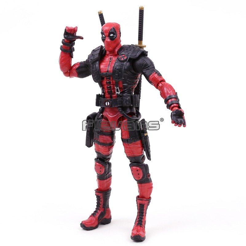 """Marvel Comics X Men Legends Deadpool PVC Action Figure Collectible Model Toy 10"""" image 5"""