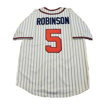 90's Jackie Robinson #5 Baseball Jerseys Kansas City Hip Hop Shirts - $45.00