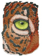 "Custom and Unique Eye Of Jaguar Embroidered Iron on/Sew patch [6.87"" *4.... - €14,48 EUR"