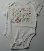 Infant Baby Girls 3-6 months Old Navy Love Flower Shirt - $3.00