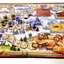 The Chronicles of Narnia Board Game Milton Bradley 2005 Complete - $16.04