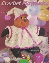 Playmates, Leisure Time Crochet Dolls with Outfits Pattern Booklet MM110... - $3.95