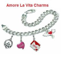 New Amore La Vita Sterling Silver Graduation Cap Charm with Lobster Clasp with L image 2