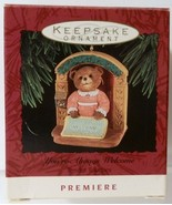 Hallmark Keepsake Ornament You're Always Welcome Tender Touches 1993 - $4.94