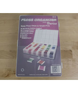 Darice Floss Organizer with 100+ Thread Lot for Cross Stitch Embroidery etc - $29.99