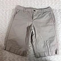 Tommy Hilfiger Sz 6 Tan Khaki Womens Shorts - $10.00