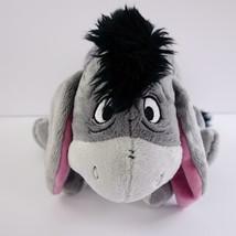 Disney Store Winnie the Pooh Gray Eeyore Stuffed Plush 15 Inch - $24.09
