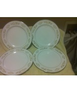 (4)  INTERNATIONAL SILVER--  SPRINGTIME --JAPAN- DINNER PLATES --FREE SH... - $35.20