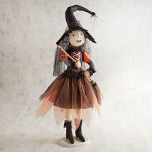 "NWT PIER1 Halloween NINA NOCTURNAL WITCH  Sculpture Figurine NWT 30""  tall - $68.31"