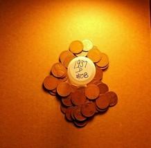 1937-D LINCOLN WHEAT PENNY 50c COIN ROLL #08 !!BETTER DATE!! pics/descri... - $7.49