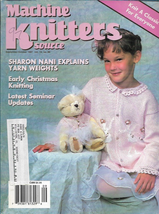 Machine Knitters Source Sept Oct 1997 Magazine Early Christmas Knitting - $4.27