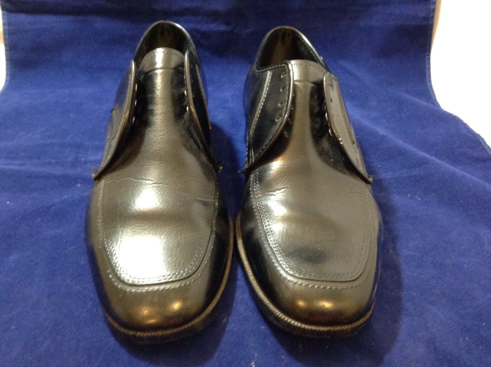 Men's Black Dress Shoes Size 8.5EEE