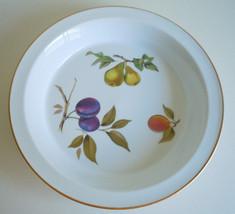 Royal Worcester Evesham Gold Pie Baking Plate - $20.78