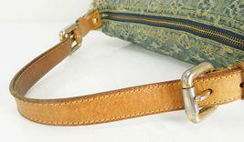 Authentic LOUIS VUITTON Baggy PM Blue Denim Shoulder Tote Bag Purse #34953 image 8