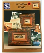 Twisted Threads Fly Away Home Counted Cross Stitch Ruth A. Sparrow 2 Pat... - $4.50