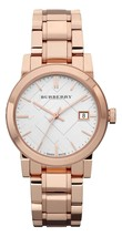 Burberry Ladies Watch BU9104 Swiss Made Heritage Rose Gold Stainless steel  - $257.00
