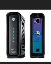 Motorola Arris SURFboard SB6121 Cable Modem Black w/ Adapter - $12.19
