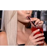 "Daxwell C10003904 Polypropylene Drinking Straws, Wrapped, Black, 7.75"" (... - $79.47"