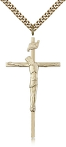 Crucifix - Gold Filled Medal Pendant - 0030 - $151.99