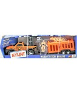 "Nylint Serengeti Game Control Die-Cast Steel 8"" Truck Wildlife Rescue Ha... - $44.54"