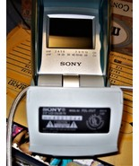 Vintage Sony (FDL-252T) Portable Analog Watchman LCD Color Television w/... - $8.50