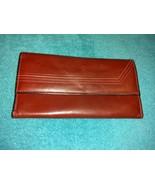 Rolfs vintage burgundy ladies wallet soft cowhide leather - $17.00