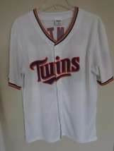 Stadium Give Away MLB Minnesota Twins Torii Hunter Button Front Jersey M... - $31.03