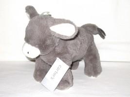 "NWT Carters Plush Toy Stuffed Animal Baby Donkey 10"" Barn Nativity Farm Silky - $21.99"