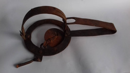 Antique Primitive Hand Forged Iron Trap for mouse - $75.00