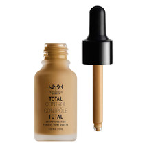 NYX Total Control Drop Foundation TCDF15 Caramel - $11.87