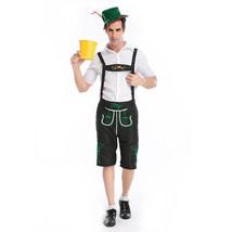 Oktoberfest Mens Costume Bavarian Beer German Lederhosen Fancy Guy Adult... - $61.99