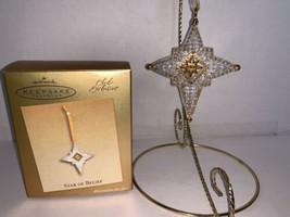 Hallmark Keepsake Ornament Club Exclusive Star of Belief 2003 - $7.50