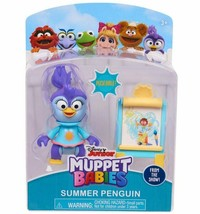 NEW SEALED 2018 Disney Muppet Babies Summer Penguin Figure - $9.49